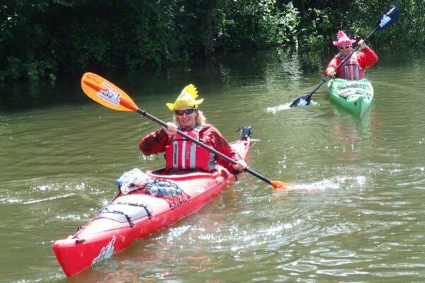 Kayaking-Ouse